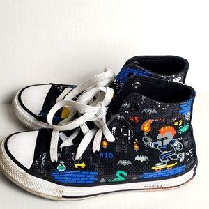 Atari Toddler Boys Hi top Converse Sneakers 13.5